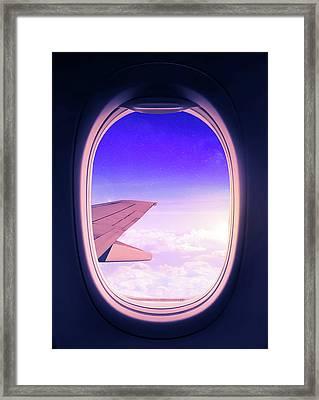 Travel The World Framed Print