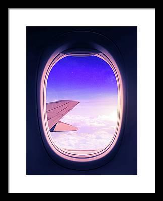 Fly Framed Prints