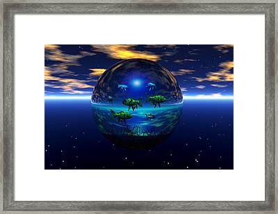 Travelers Framed Print by Claude McCoy