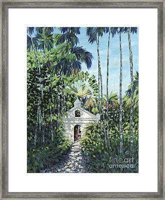 Travelers Path Framed Print by Danielle  Perry