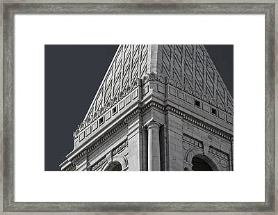Travelers Tower Summit Framed Print