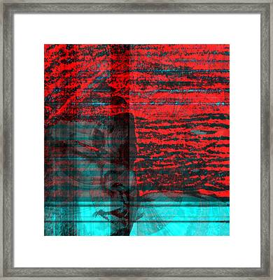Traveling In A Vision Framed Print by Fania Simon