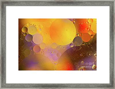 Traveling In Outer Space Framed Print by Christine Amstutz