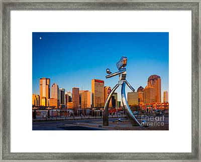 Traveling Man Framed Print