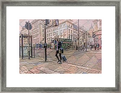 Traveling  Framed Print by Nicole Frischlich