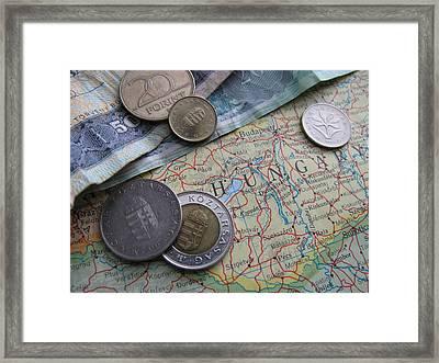 Traveling Through Time Framed Print