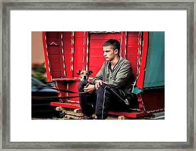 Traveller 2 Framed Print