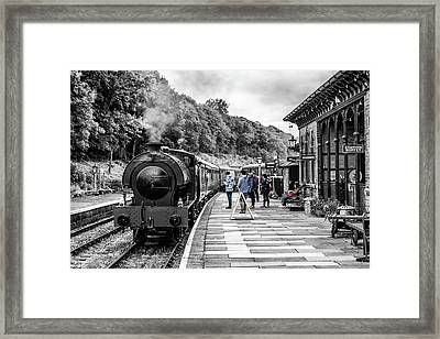 Travellers In Time Framed Print