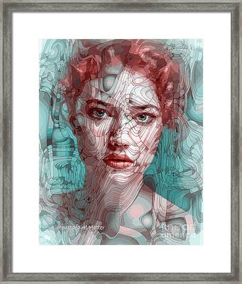 Travelling Wave Framed Print by Moustafa Al Hatter