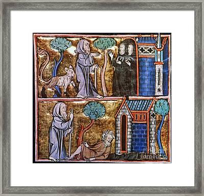 Travels Of Merlin Framed Print by Granger