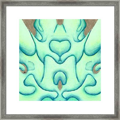 Travels Of The Mind Framed Print by Versel Reid