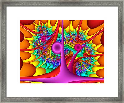 Tendrilous Framed Print