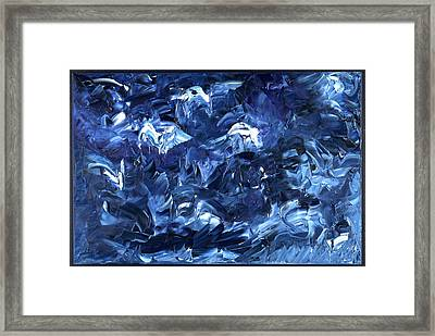 Traversee Framed Print by Dominique Boutaud