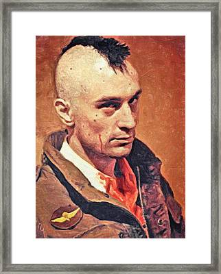 Travis Bickle Framed Print