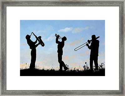 tre Framed Print