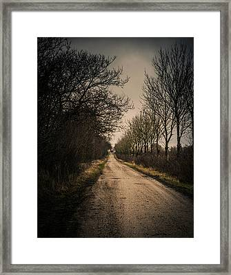 Framed Print featuring the photograph Treadmill by Odd Jeppesen