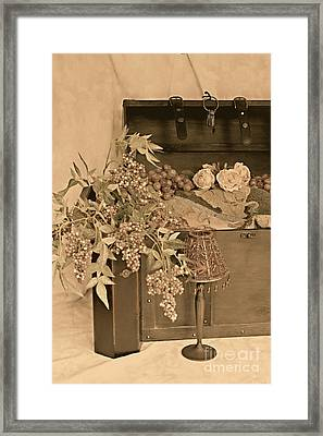Treasure Chest Full Of Memories No.1 Framed Print