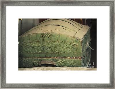 Treasure Chest Framed Print by Jennifer Apffel