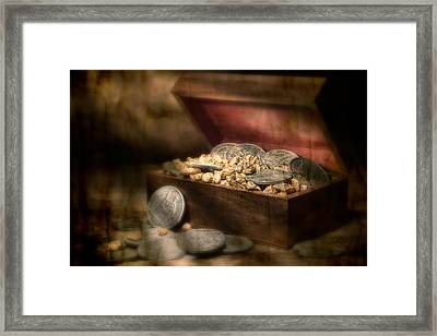 Treasure Chest Framed Print by Tom Mc Nemar