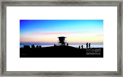 Treasure Coast Florida Sunrise Seascape Paradise 447 Framed Print
