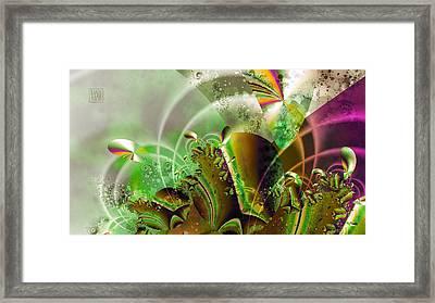 Treasure Cove Framed Print