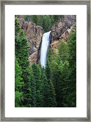Treasure Falls Framed Print
