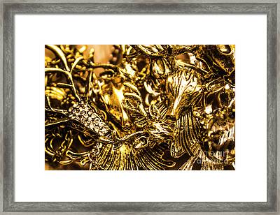 Treasure From The East Framed Print