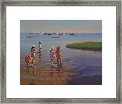Treasure Hunters Framed Print