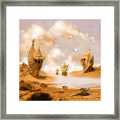 Treasure Island Framed Print