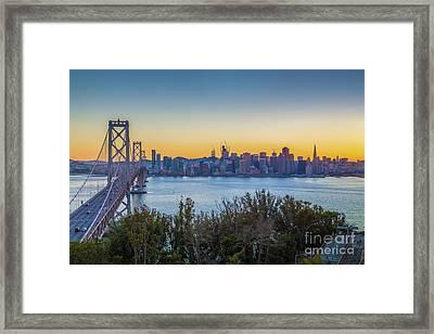 Treasure Island Sunset Framed Print by JR Photography