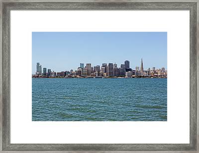 Treasure Island View Framed Print by Kelley King