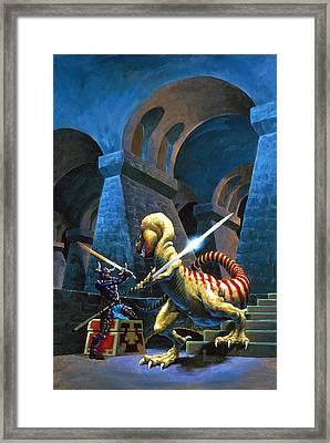 Treasure Maze Framed Print by Richard Hescox