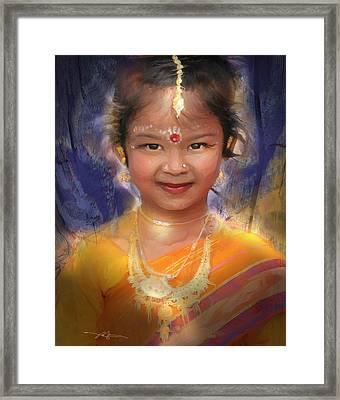 Treasure Of South Asia Framed Print by Bob Salo