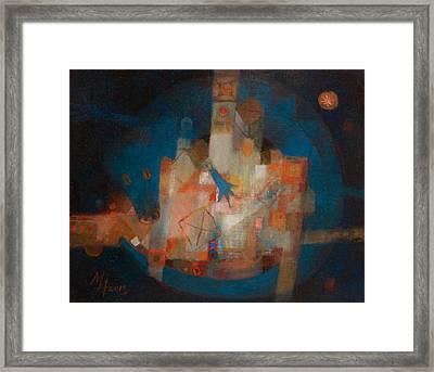Treasure Of The Blue Dragon Framed Print