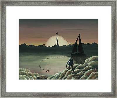 Treasure Path Framed Print
