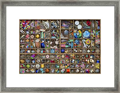 Treasure Framed Print by Tim Gainey