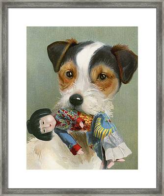 Treasure Trove Framed Print by English School