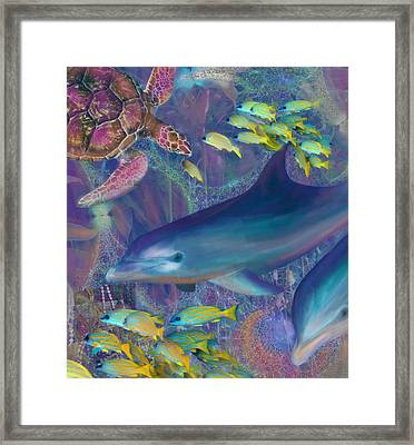 Treasures Of The Caribbean Framed Print