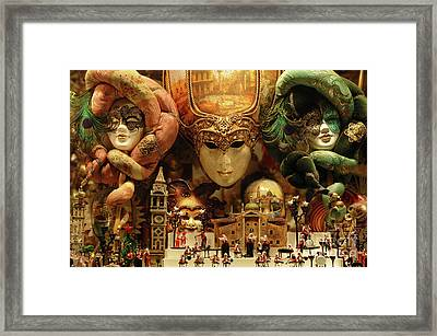 Treasures Of Venice Framed Print by Bob Christopher
