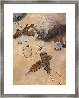 Treasures Framed Print by Sandy Clift