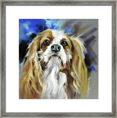 Treat Expectations Framed Print by Rae Andrews