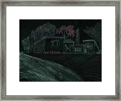 Treat Framed Print by Karen Diggs