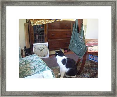 Treat Time Framed Print