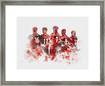 Treble Winners 1999 Framed Print by Rebecca Jenkins