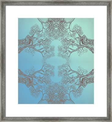 Tree 20 Hybrid 3 Framed Print