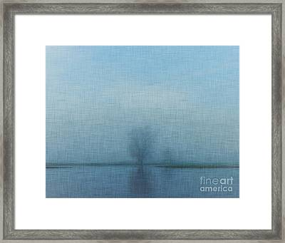 Tree Among Waters Framed Print
