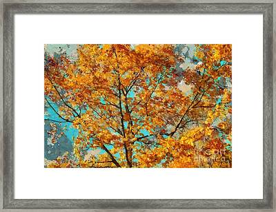 Tree Art 03 - Tl-k0111 Framed Print by Variance Collections