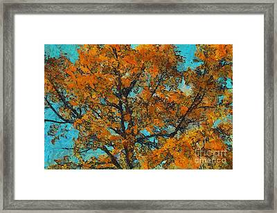 Tree Art 03 - Tlg03cc Framed Print by Variance Collections