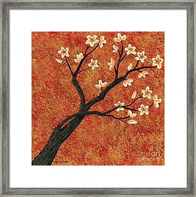 Tree Blossoms Framed Print