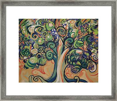 Tree Candy Framed Print by Genevieve Esson